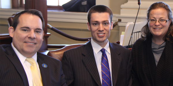 Photo of Bryan with Fellow Legislators